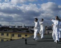 Taiji na střeše